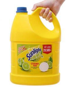 Nước rửa chén sunlight chanh 3,8kg